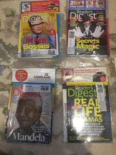 Readers Digest 2013 issues