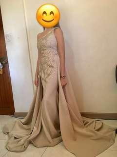 For Rent: Venus Cut Gown with Long trail