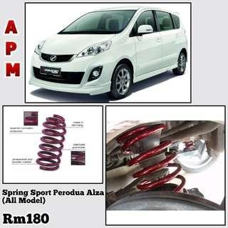 Spring Sport APM Perodua Alza
