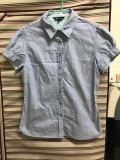 NET 短袖襯衫