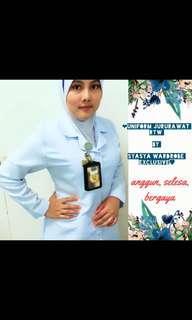 Uniform jururawat ready made
