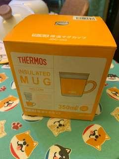 Thermo 保温杯 350ml 黃色