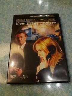 The Interpreter 叛譯者 DVD Nicole Kidman, Sean Penn