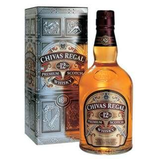 Chivas Regal Premium Scotch Whisky 12 years 1L