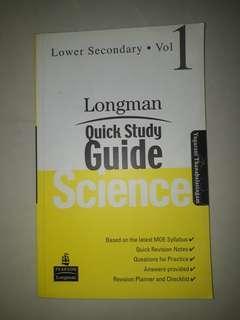 Longman | Science quick study guide Vol1