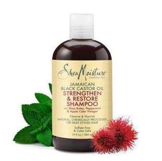 Shea Moisture Jamaican Black Castor Oil Shampoo 13oz