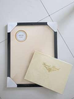 Guest Book and Signature Frame