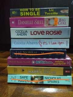 English Romance Novels, Teen Novels