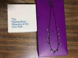 The Metropolitan Museum Crystal necklace
