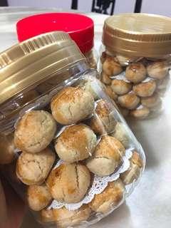 Homemade CNY Almond Cookies