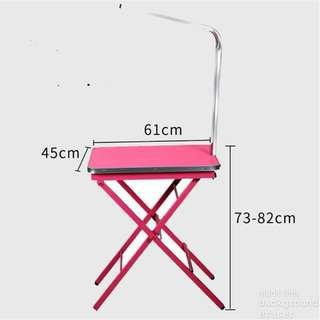 🚚 Foldable Grooming Table