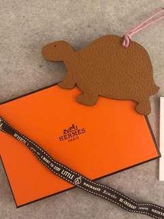 Hermes petit h charm (small turtle)