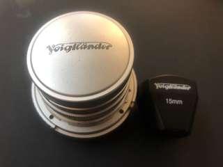 Voigtlander 15mm F4.5 一代 連viewfinder