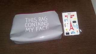 TRAVEL BUNDLE POUCH AND BAG TAG