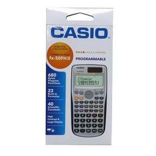Casio計數機 Fx-50FH II