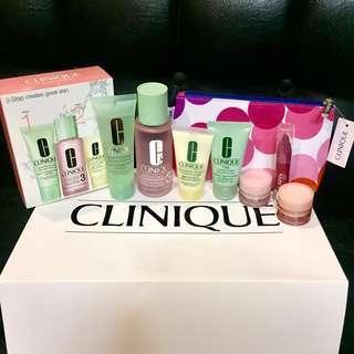 Authentic Clinique skin care set