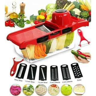 VEGETABLE CUTTER 6 IN 1