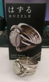 Huzzle 解鎖 魯班鎖 益智玩具 戒指