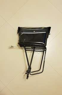 Topeak MTX Trunk Bag + Super Tourist DX Rack