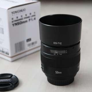 Yongnuo 50mm f1.4 (Canon)