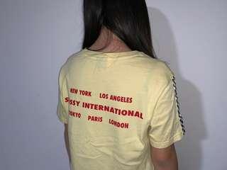 Stussy International Pale Yellow Top (swipe)