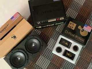 Critical Mass Audiophile Speaker set.