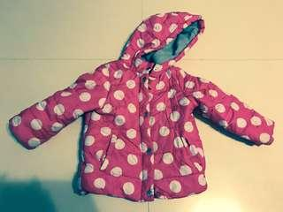 4 yr old girl's winter jacket for cold climates