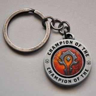 World of Warcraft Faction Keychain (Original Blizzard merch)