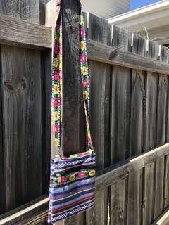Flower hippy festival bag