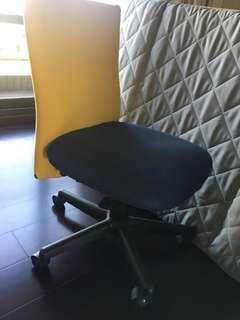 辦公室滑輪椅 休閒椅 拼接色
