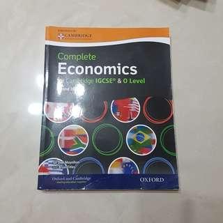 Oxford and Cambridge Complete Economics for IGCSE & Olevel