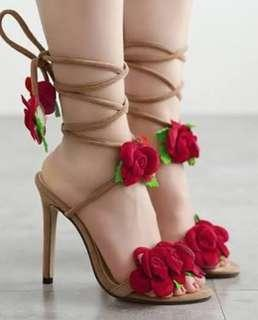 Rose Strap Shoes