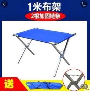 布架摺疊桌 折疊戶外桌 擺攤 收納 背式 100公分*70公分