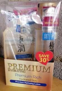 READY STOCK HADA LABO PREMIUM HYDRATING LOTION 170ml + refill 170ml