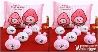 預購 Kanahei 台灣 mister donut 草莓福袋枕