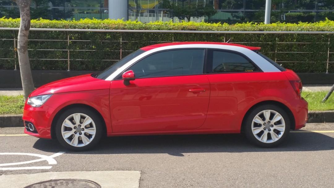 2011年份 Audi A1 1.4渦輪(自售,無車貸,非事故車,泡水車)