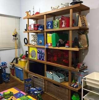 Ikea pinewood shelf