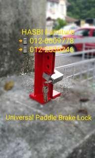 PADDLE BRAKE LOCK