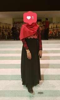 Rent Dinner Dress Gown [ Rental ] #MFEB20