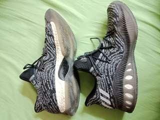 🚚 ADIDAS CRAZY EXPLOSIVE LOW PK boost 黑灰雪花 編織  籃球鞋  BB8346