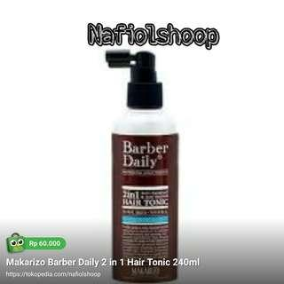 Makarizo Barber Daily 2 in 1 Hair Tonic 240ml