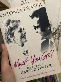 MUST YOU GO (english novel)