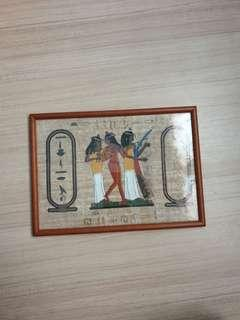 Egypt picture frame