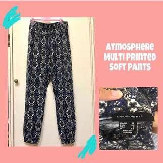 Atmosphere Multiprinted Pants