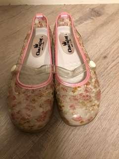 日本charming花花鞋