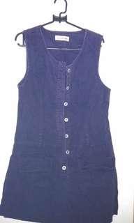 🌞 jeans dress