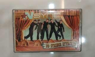 Original N SYNC No Strings Attached Cassette