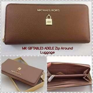 Michael Kors Giftable Adele Zip Around Wallet