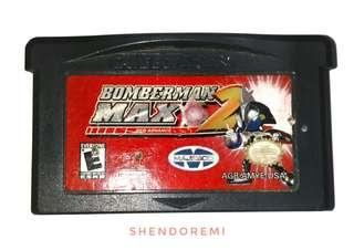 Bomberman Max 2 Red Advance for Gameboy Advance GBA