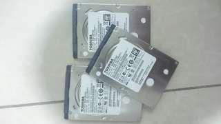 Laptop/Notebook 500gb HDD (2.5inch)